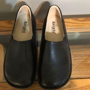 Alegria Debra Black Napa Shoes